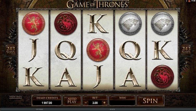 Game Of Thrones Slot Review