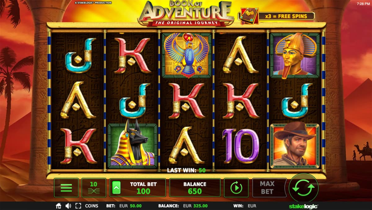 Book of Adventure Slot Review