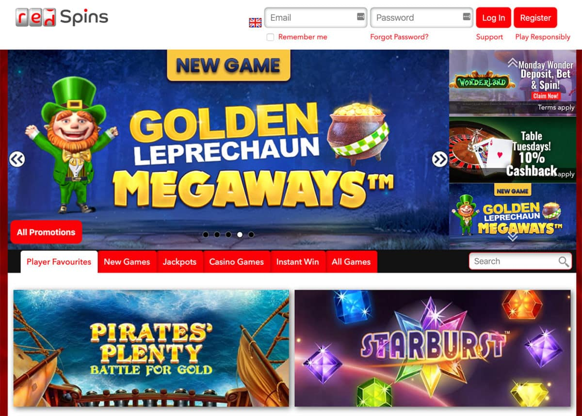 RedSpins Casino Review