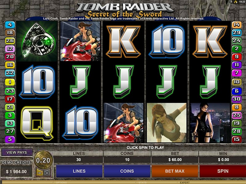 Tomb Raider 2 Slot