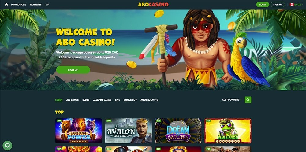 Abo Casino Review
