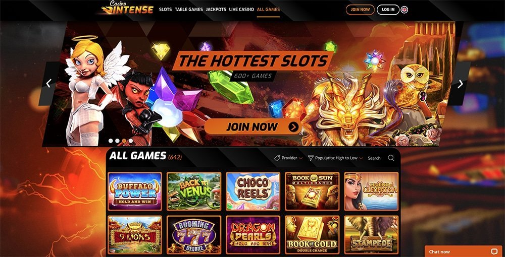 Casino Intense Review
