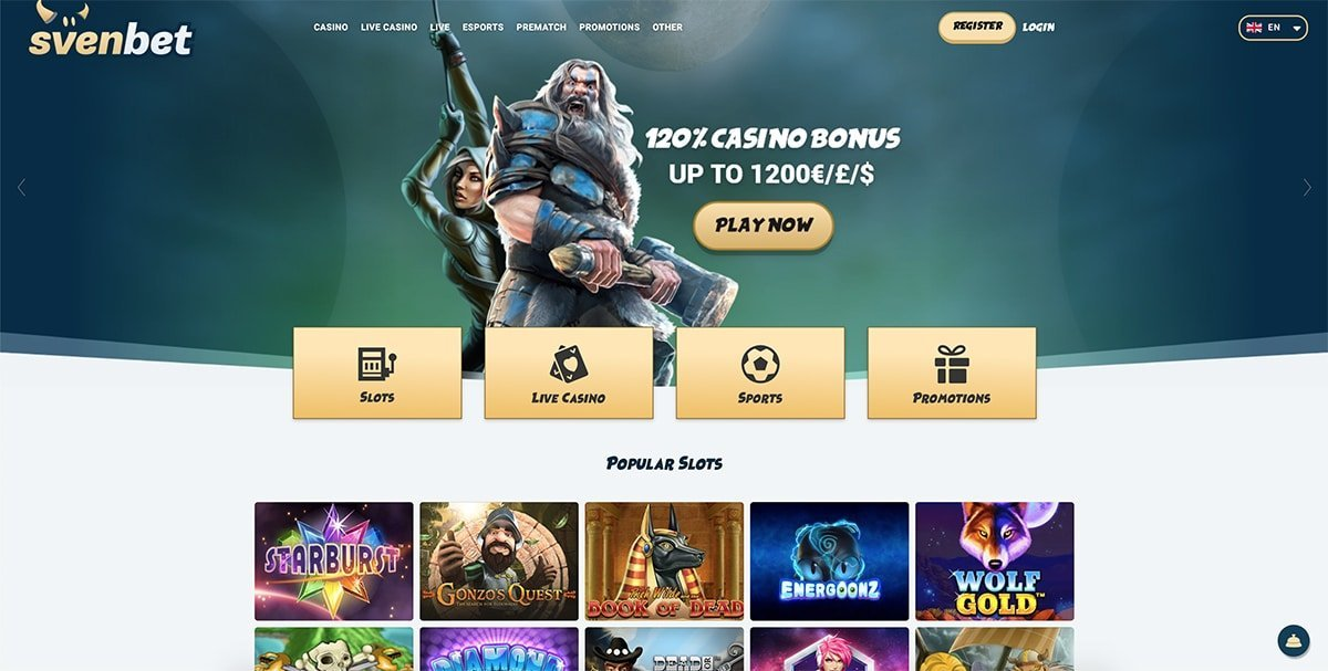 Svenbet Casino Review